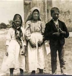 De zienertjes Jacinta, Lucia en Francesco