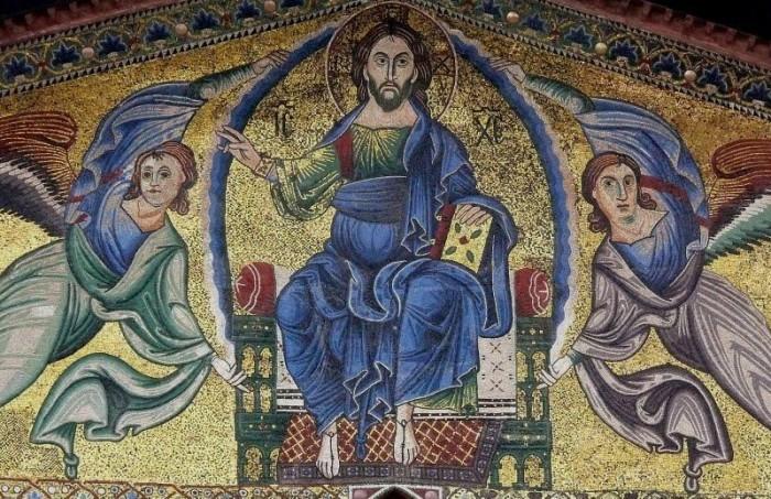 tronende christus (101) LR