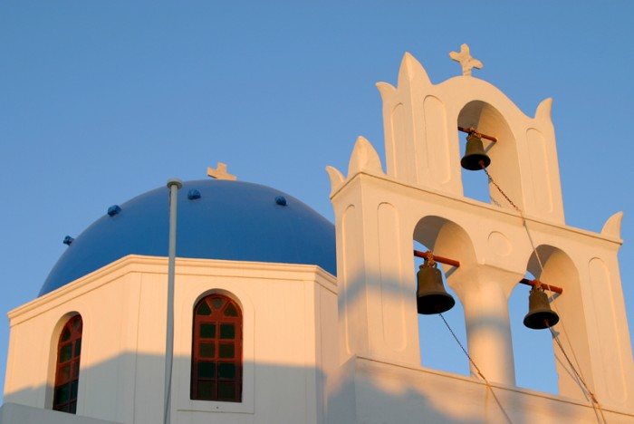 GREECE-Oia-church-bells