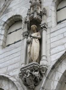 Leuven - Kapel van Fiere Margriet