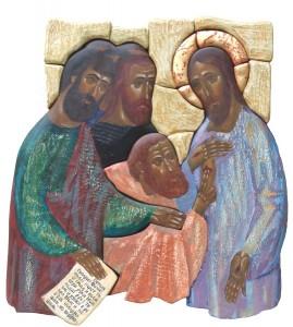 Christus en de ongelovige Thomas
