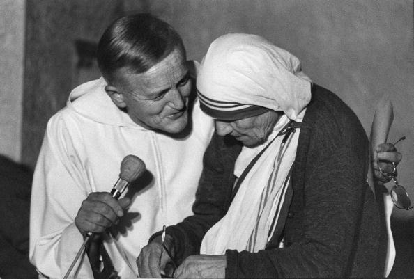 Broeder Roger van Taizé en Moeder Theresa